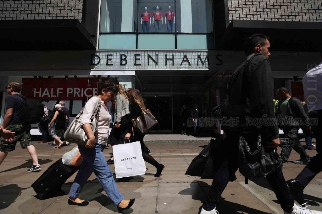 传英国Debenhams百货考虑通过CVA关店 主席否认 股价创历史新低