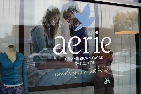 aerie 同店销售暴涨38% 刺激American Eagle Outfitters美鹰服饰首季超预期