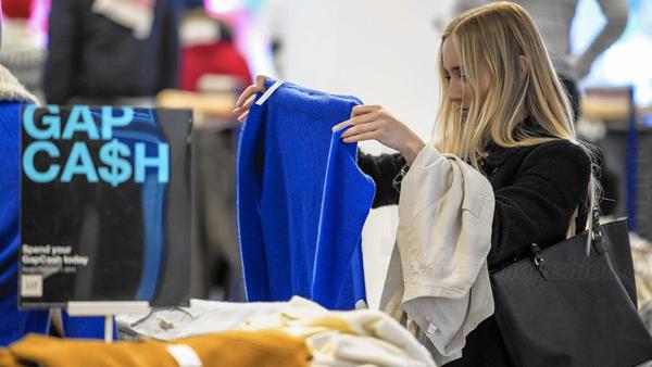 Macy's Inc. 梅西百货和Gap Inc. 盖璞集团领衔 减税刺激美国零售股周一暴涨 资金继续从科网股流出