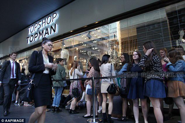 Topshop澳大利亚特许经营商进入自愿托管 门店照常营业 Arcadia或出手拯救