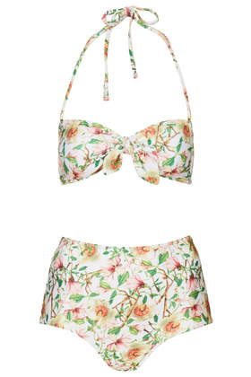 Topshop Magnolia Bandeau Bikini