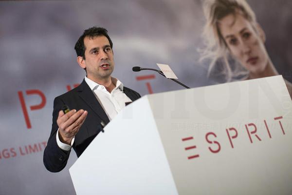 Esprit思捷环球CEO José Manuel Martínez Gutiérrez 马浩思辞职 New Look前CEO Anders Kristiansen接任