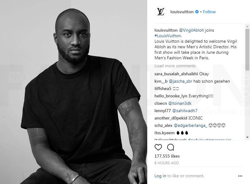 Louis Vuitton路易威登转型街头潮牌? 聘Off