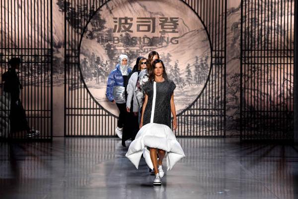波司登品牌羽绒服前九个月销售增长超过30%
