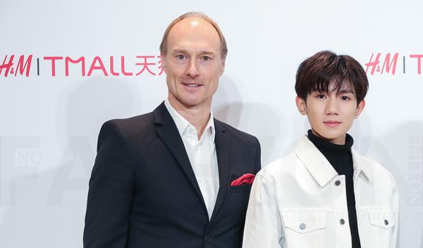 H&M正式开通天猫旗舰店 特邀TFBOYS年轻偶像王源代言