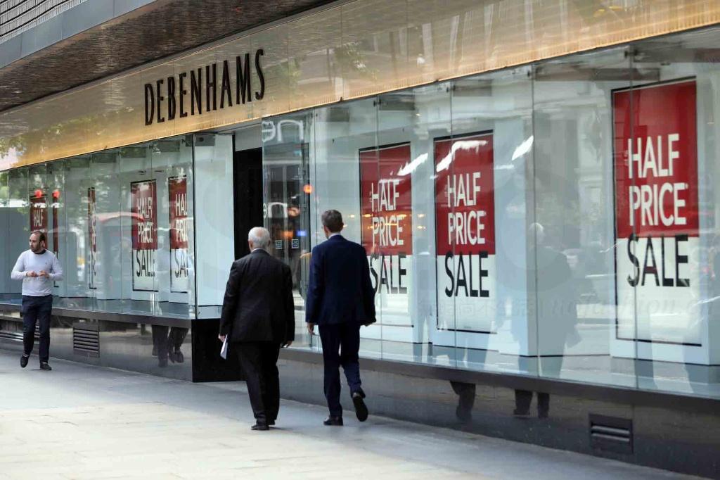 Debenhams百货再发盈警 股价急插12%