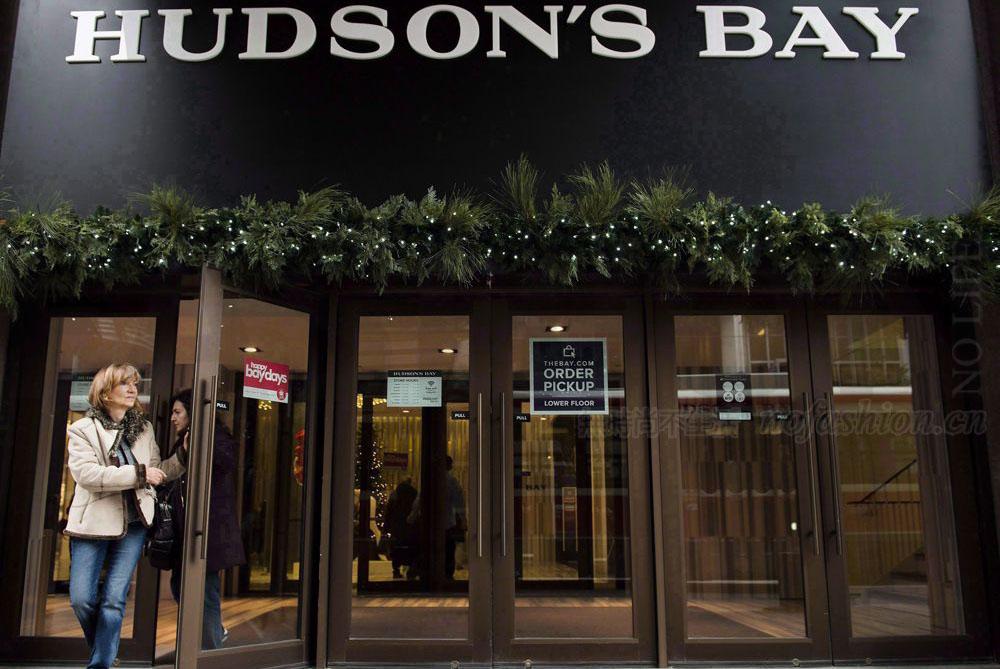 Hudson's Bay哈德遜灣集團銷售全面改善