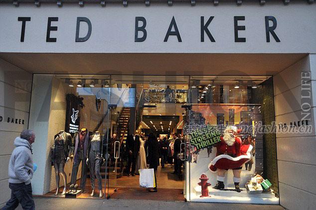 Ted Baker及Joules暂时领先英国假日季高街零售