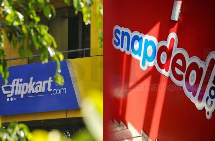 """""""印度亚马逊""""Flipkart出价7-9亿美元并购Snapdeal被拒 合并预计终可达成"""