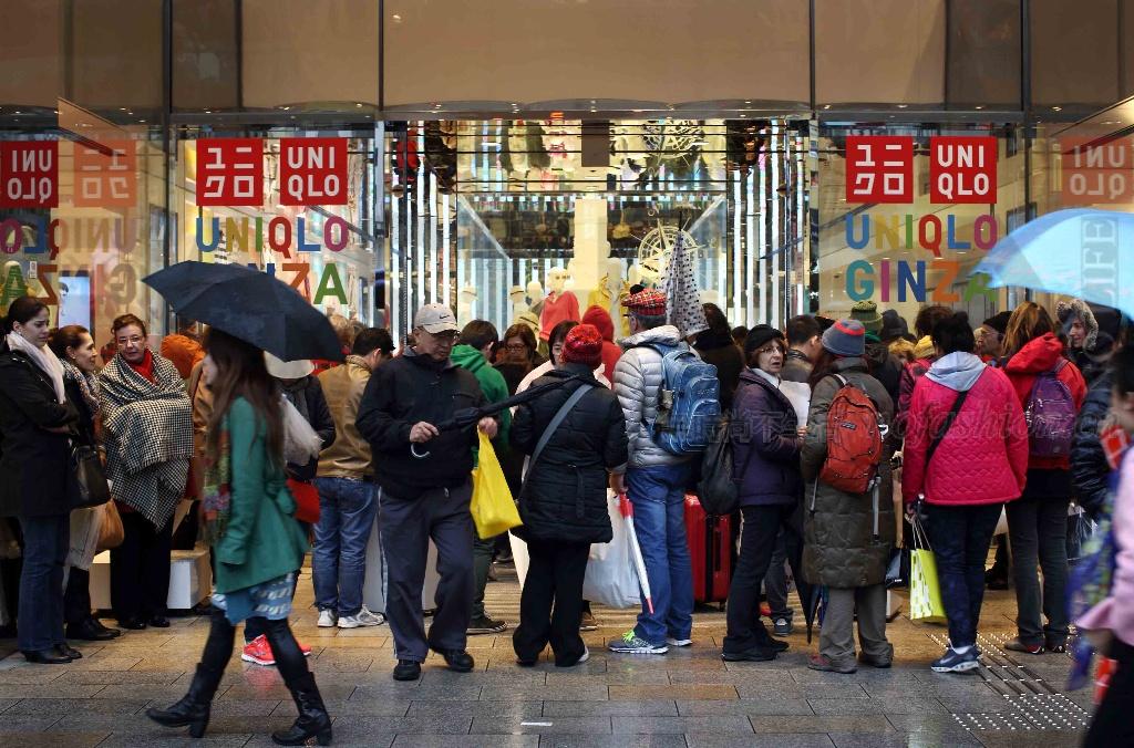 严寒及促销刺激优衣库日本12月销售猛增18.1%