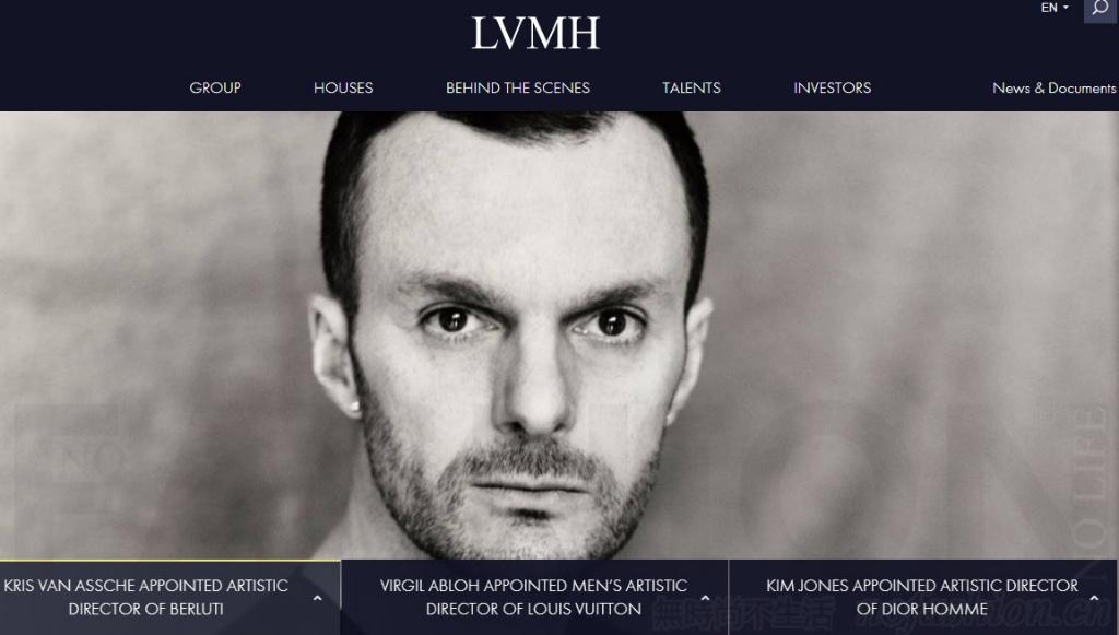 LVMH任命Kris van Asshe为Berluti艺术总监 接替Haider Ackermann