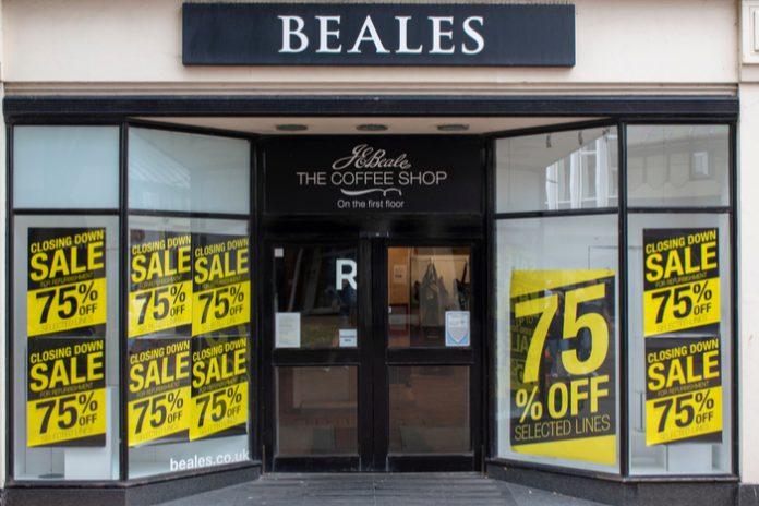 英国再有百货公司破产 百年Beales百货被接管