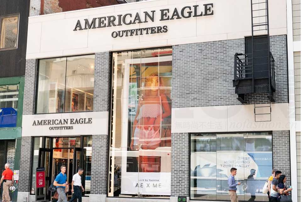 American Eagle Outfitters销售显著放缓 前景展望逊预期 股价重挫16%