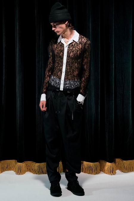 巴黎男装周Takahiromiyashita The Soloist Menswear Spring/Summer 2018春夏男装发布