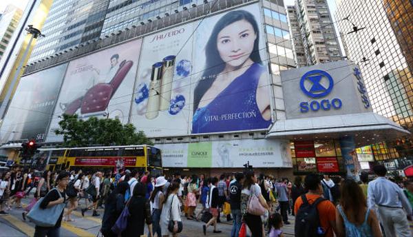 久光百货在上海商圈失去竞争力