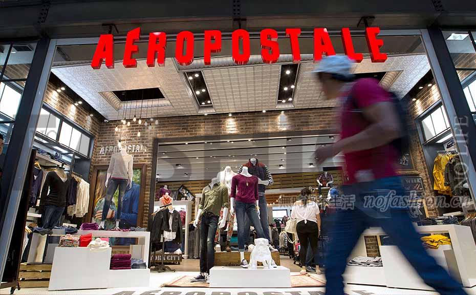 Aéropostale将重开500间门店
