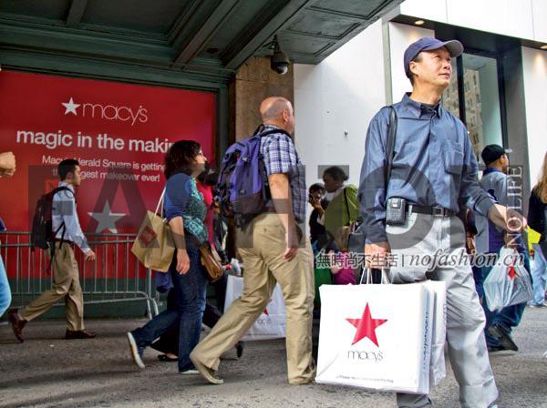 Macy's梅西百货首季同店销售喜人 上调全年预期 股价飙升11%