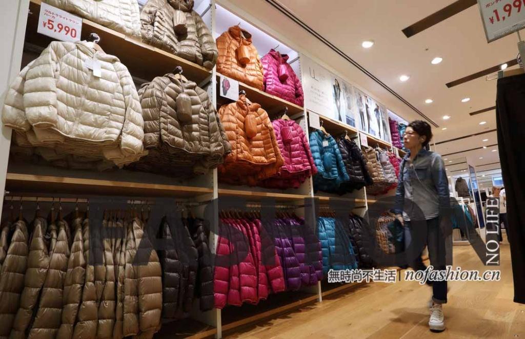 温暖天气致优衣库日本10月同店销售下跌一成