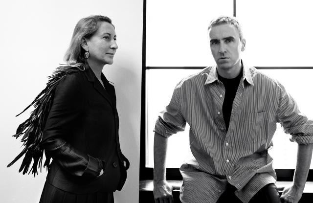 """Raf Simons加盟Prada普拉达成为联席创意总监 Miuccia Prada强调""""绝非""""考虑退休"""