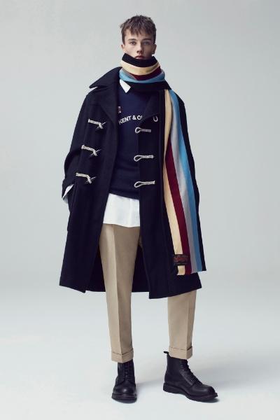 Kent & Curwen Menswear Fall/Winter 2017