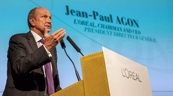 Jean-Paul Agon 称无意改变欧莱雅股价结构
