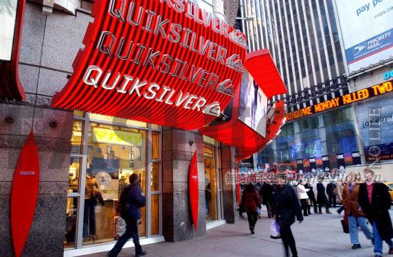 Quiksilver破产后更名为Boardriders