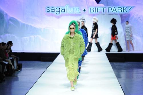 顶尖设计师的皮草视角  SAGA FURS+ BIFTPARK 2015国际皮草流行趋势发布会