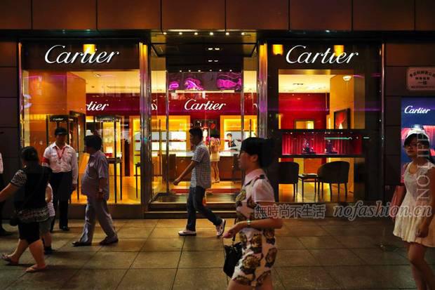 瑞表9月出口暴跌8.1% 中国令其坠入深渊 瑞士知名钟表集团历峰旗下Cartier卡地亚品牌门店