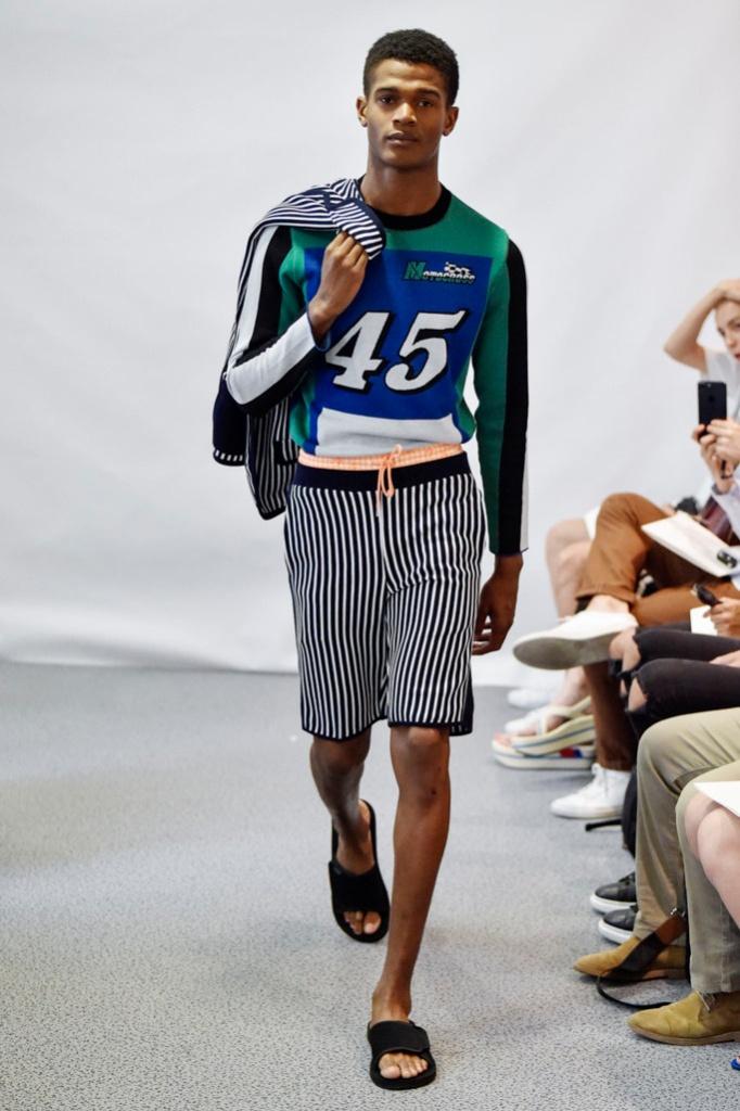 巴黎男装周Lucien Pellat-Finet Menswear Spring/Summer 2018春夏男装发布