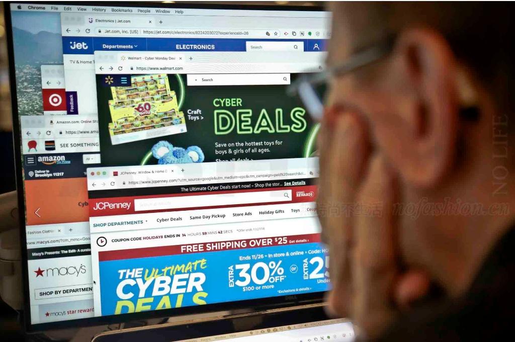 """美国""""网络星期一""""录得史上最高在线销售 Amazon亚马逊亦宣告破纪录"""
