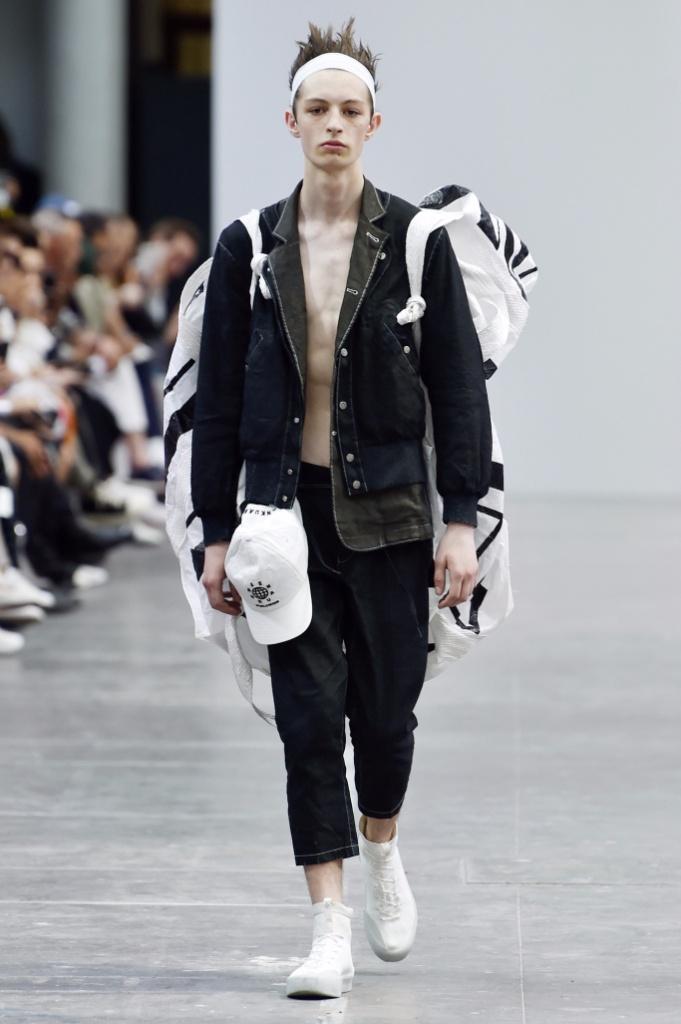 巴黎男装周Sankaunz Menswear Spring/Summer 2018春夏男装发布上官喆