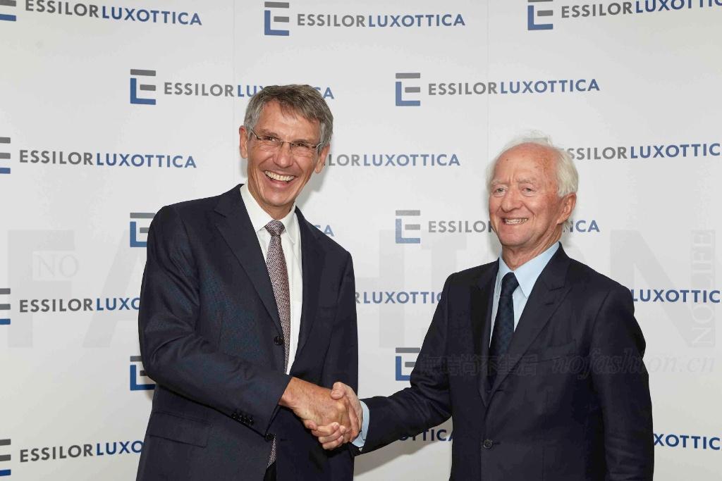 依视路陆逊梯卡宣布和解内斗 两家CEO将平起平坐
