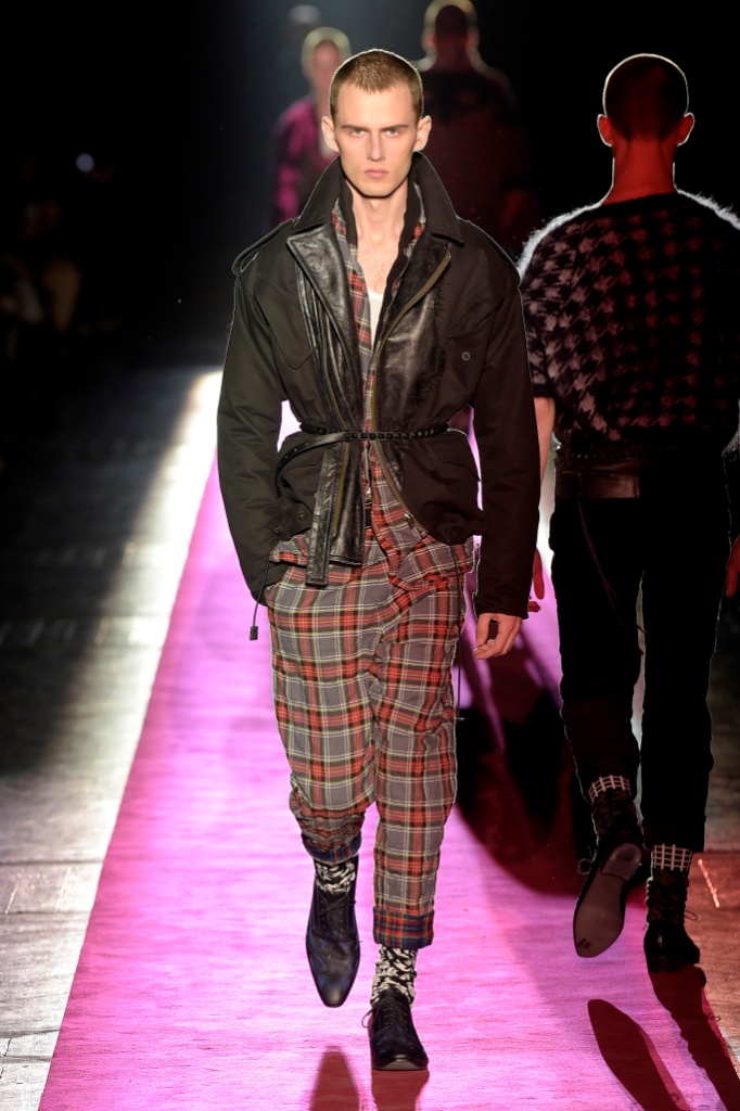 巴黎男装周Haider Ackermann Menswear Fall/Winter 2017秋冬男装发布