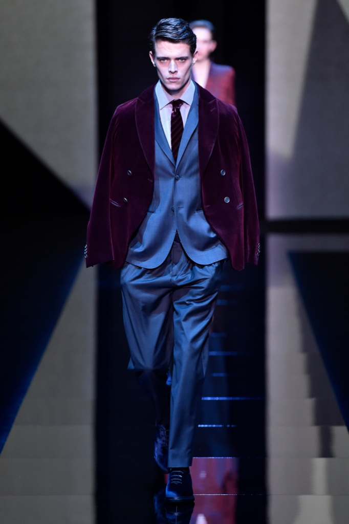 米兰男装周Giorgio Armani Menswear Fall/Winter 2017秋冬男装发布