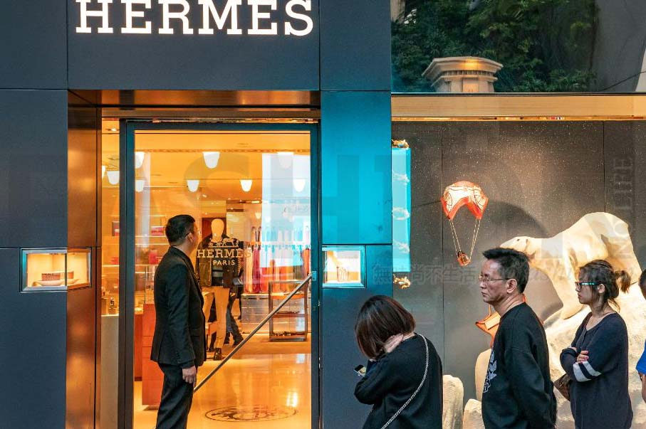 Hermès愛馬仕中期盈利勝預期