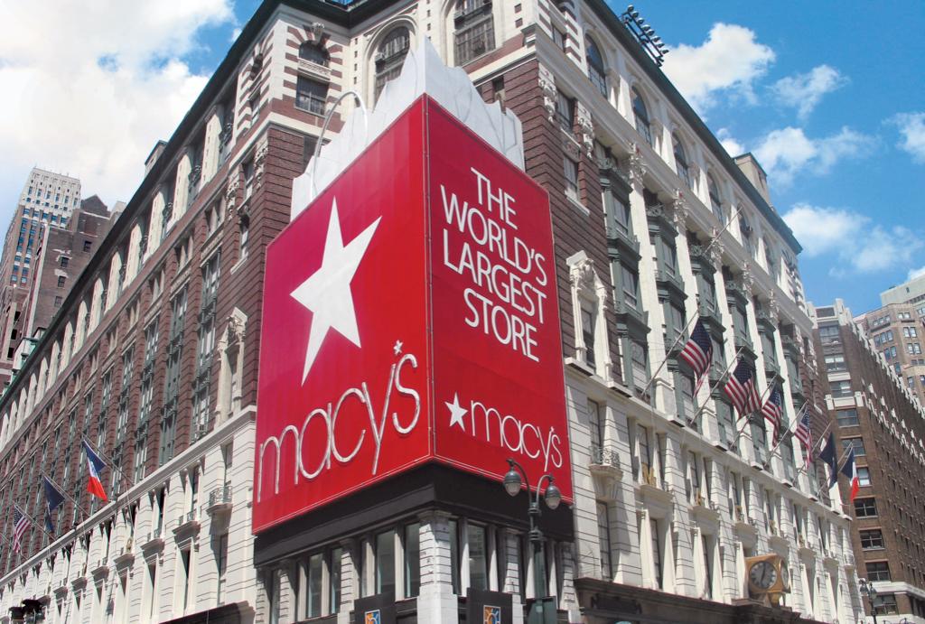 梅西百货假日季同店销售下滑0.7%