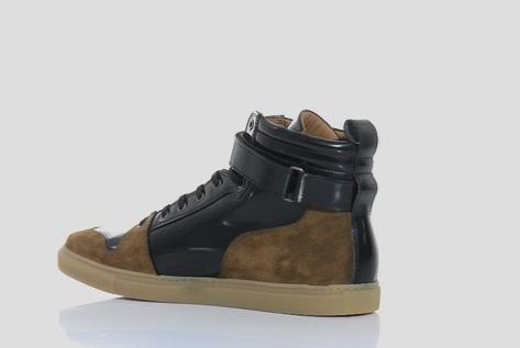 AMI仿麂皮运动鞋