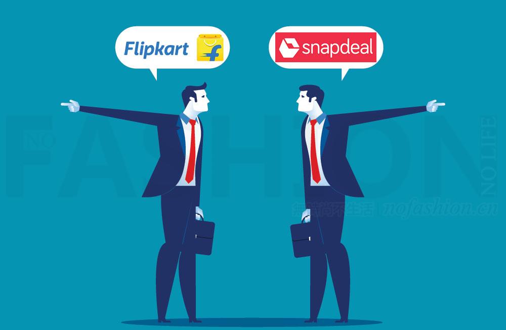 印度两大本土电商合并告吹 Snapdeal终止向Flipkart出售 Amazon亚马逊坐收渔人之利