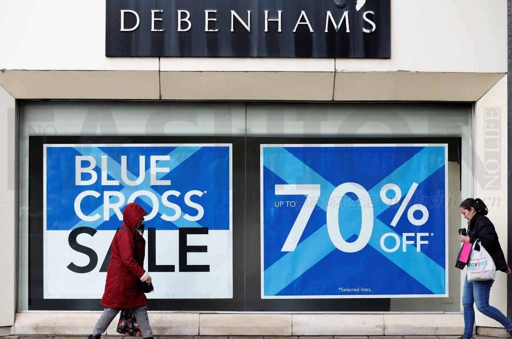 坏账飙升 英国零售业破产案大增60%