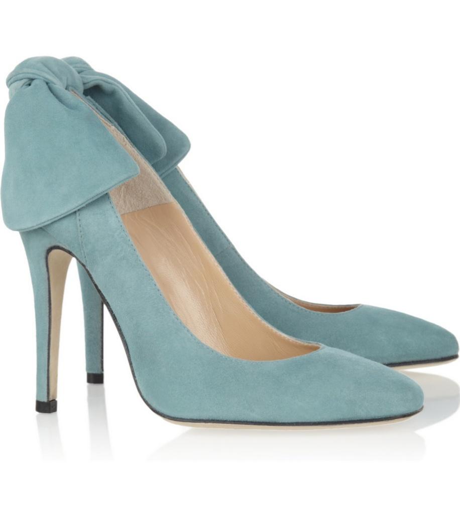 Carven麂皮高跟鞋 - 无时尚中文网-中国领先的
