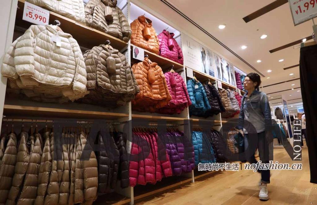 Uniqlo优衣库12月日本同店销售下跌5% 迅销股价急挫7%