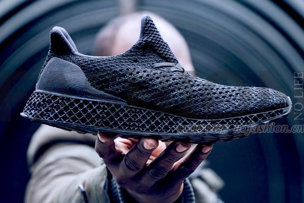 Adidas阿迪达斯3D打印鞋明日开卖 售价2300元