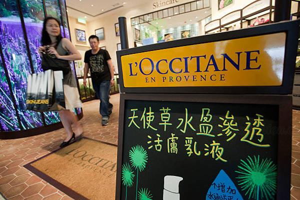 欧舒丹二季度中国同店销售大涨 股价暴涨两成