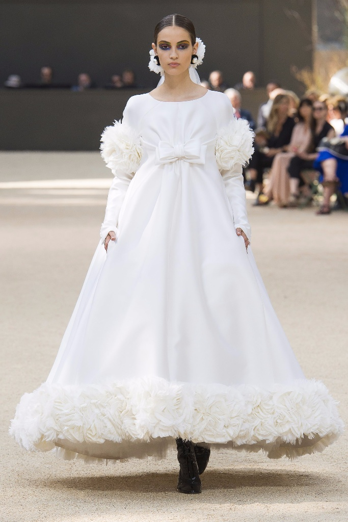 Chanel Fall Couture 2017秋冬巴黎高级定制发
