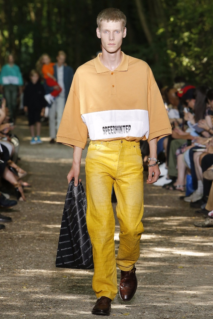 巴黎男装周Balenciaga Menswear Spring/Summer 2018春夏男装发布