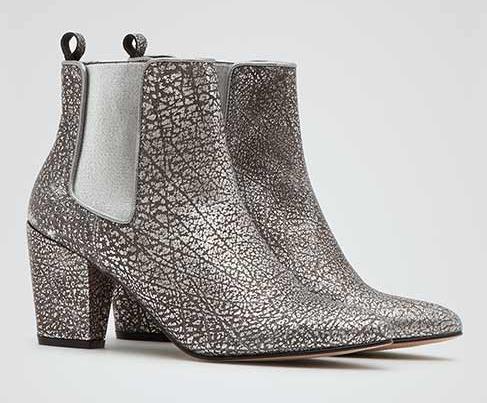 Reiss 裂纹牛皮切尔西靴