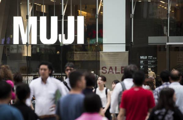 MUJI 无印良品中国销售进一步放缓