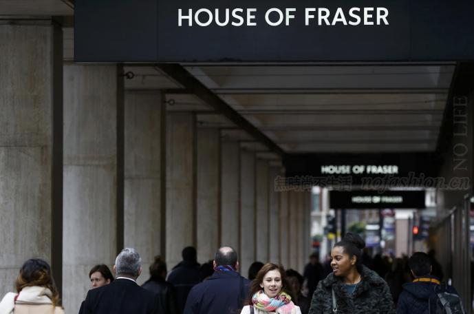 英国House of Fraser百货自愿债务重组 将关闭过半门店 裁减6000个职位