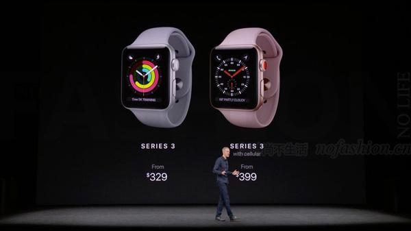 Apple Watch 3部分情况无法连接蜂窝网络 苹果股价大跌