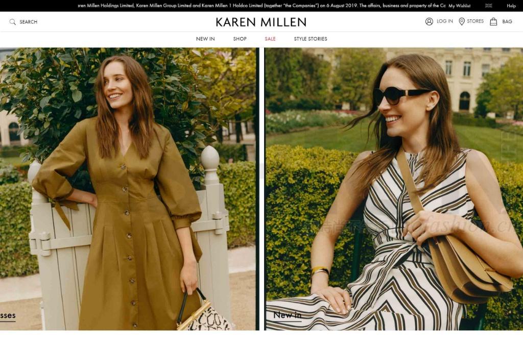 英国时尚电商Boohoo斥1820万英镑收购高街品牌Karen Millen数字业务